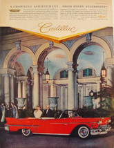 1958 CADILLAC SERIES 2 Convertible THE BREAKERS PALM BEACH FL Print Ad  - $9.99