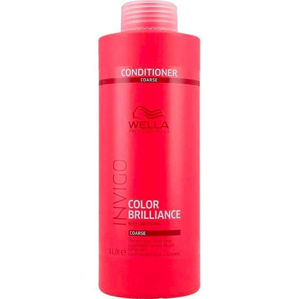 Wella INVIGO Brilliance Conditioner for Coarse Hair,  33.8oz