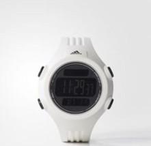 adidas Unisex ADP6090 Digital White Striped Watch with Polyurethane Band - €39,56 EUR