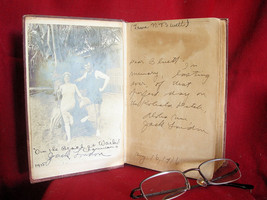 Jack London Inscribed LOVE OF LIFE with signed photo - $2,082.50