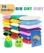 36 Colors Fluffy Slime Toys Magic Soft Plasticine Antistress Air Dry Clay - $9.14+