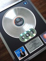 FRANK SINATRA COME FLY WITH ME LP MULTI PLATINUM DISC RECORD AWARD ALBUM - $296.99
