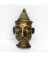 1900s ANTIQUE STATUE RARE OLD COLLECTIBLE MASK INDIA DECOR AMULET DECOR - $86.02