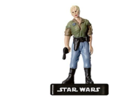 REBEL LEADER 19 Wizards of the Coast STAR WARS Miniature - $1.29