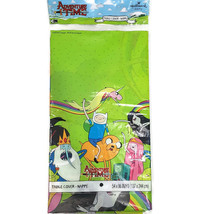 Hallmark Adventure Time Party Table Cover Tablecloth 54x96 LOT OF 2 - $19.88
