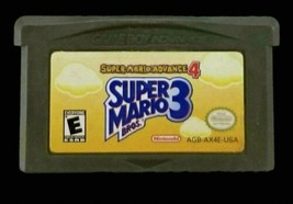 Super Mario Advance 4: Super Mario Bros. 3 (Game Boy Advance, 2003) *TES... - $14.03