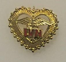 Vintage Stime Redic LVN Pin Gold Toned Taiwan - $12.59
