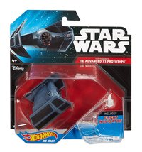 Star Wars Hot Wheels Starships - Darth Vader TIE Advanced X1 Prototype - $14.99