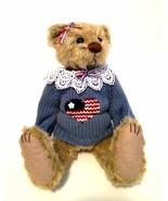 Miss Liberty Bears to Cherish Ashton Drake Gallery Teddy Bear Retired Ne... - $35.64