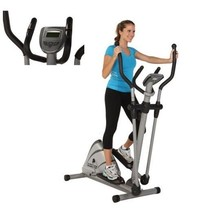 Magnetic Elliptical Machine with Pulse Exercise Fitness Machine Home Gym... - $263.29