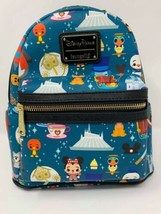 Disney Parks Magic Kingdom Attractions Mini Backpack Loungefly Space Mountain - $97.02