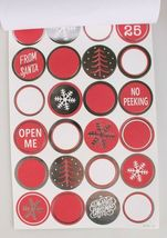 4 packs (240) Xmas Christmas Gift Tags Presents Wrapping Peel and Stick To From image 3