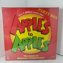 Apples To Apples Game Mattel N1384 Party Box New Family Game Fast Ship M... - $22.24