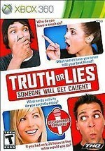 Truth or Lies (Microsoft Xbox 360, 2010) NEW Factory Sealed Video Game - $7.59