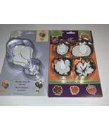 COOKIE TIME: CUTTER & STAMP Pumpkin Turkey Plus Balloon, Metal & Rubber ... - $9.59