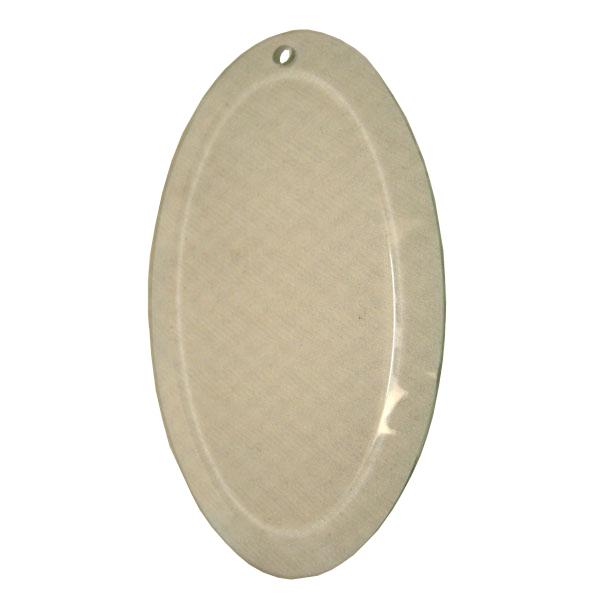 Glass oval 3x5 01