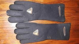 Henderson USA Gold Core Technology Scuba Dive Gloves Black Sz M  90% / %10  - $19.17