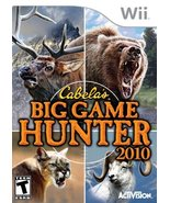 Cabela's Big Game Hunter 2010 - Nintendo Wii (Game Only) [video game] - $5.99
