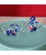 Handmade Glass Pig Earrings - New - $9.99