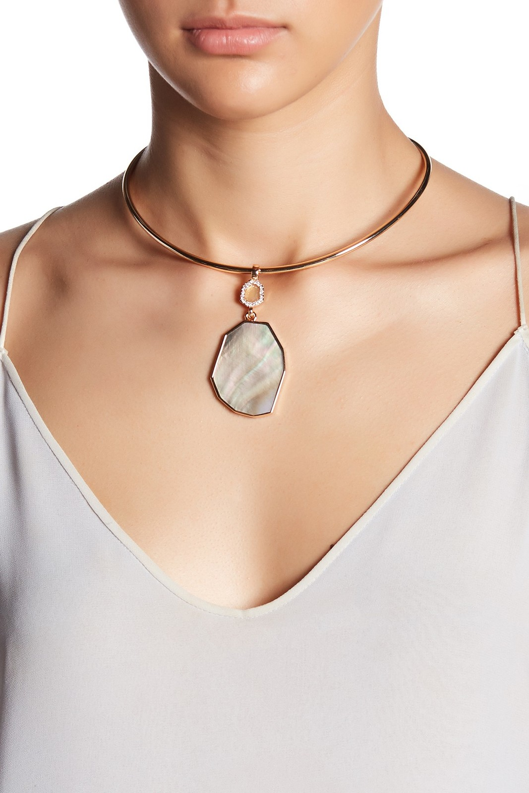 Primary image for Vince Camuto Shell Collar Necklace