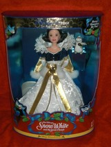 1998 SNOW WHITE BARBIE DISNEY HOLIDAY PRINCESS COLLECTION 3RD IN SERIES ... - $26.99