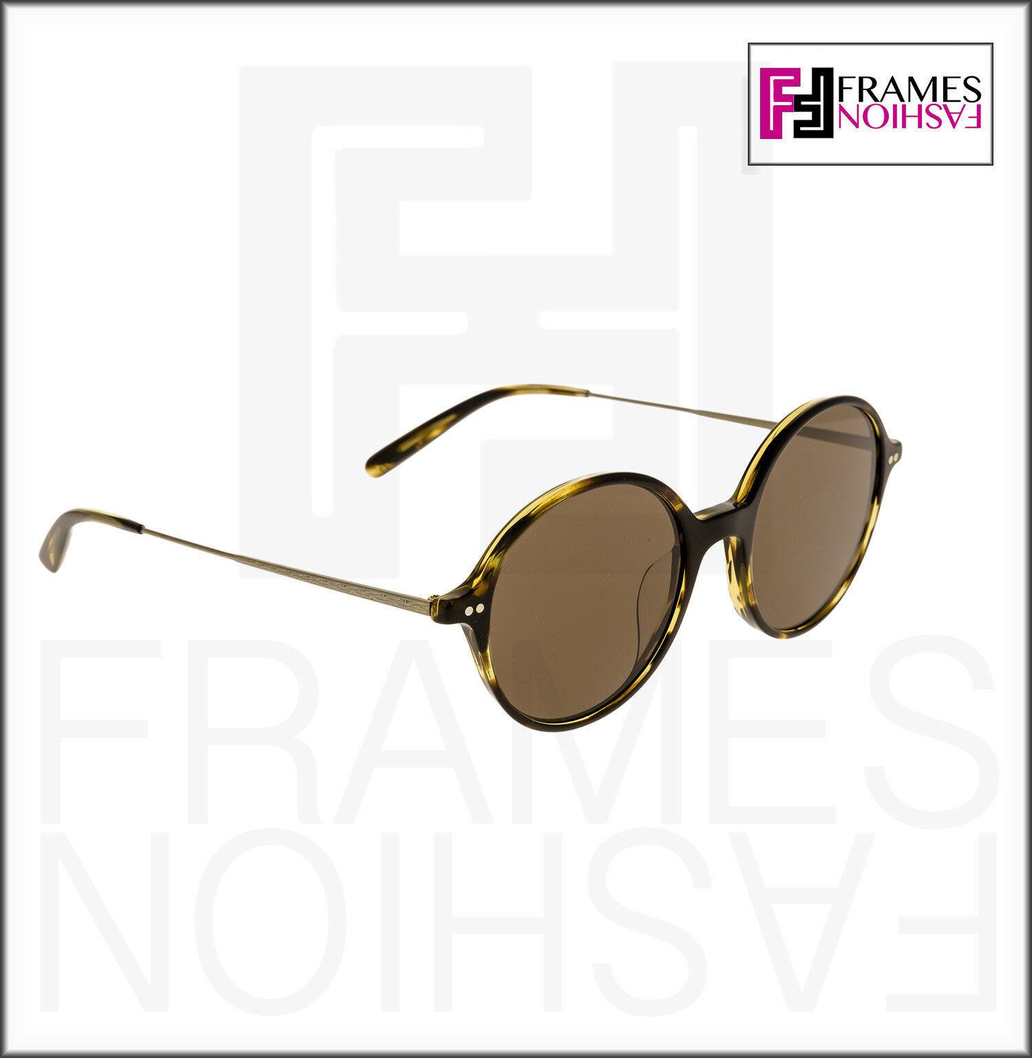 OLIVER PEOPLES CORBY OV5347SU Cocobolo Brown Gold Round Sunglasses 5347 Unisex image 5