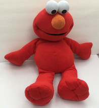 2002 big book elmo large stuffed  animal big eye  seasame street character  - $13.86