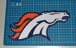 DENVER BRONCOS NFL 5IN FOOTBALL SUPERBOWL JERSEY PATCH EMBROIDERED - $14.99