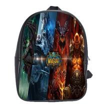 Backpack School Bag World Of Warcraft Video Game In Heroes Animation Game Fantas - $33.00