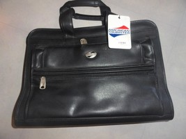 NOS American Tourister Carry-On Travel Bag Luggage Suitcase Black Computer Bag - $32.18