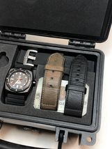 Vintage VDB 2016 Black PVD Watch 46mm Limited to 30 Box Papers image 8