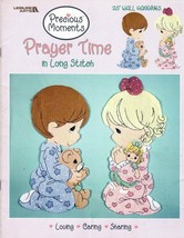 """Precious Moments Prayer Time in Long Stitch 25"""" Wall Hangings Leisure Ar... - $7.50"""