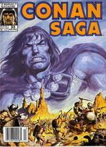 Conan Saga #33 (Newsstand) FN; Marvel | save on shipping - details inside - $1.99