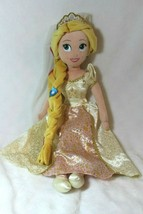 "Disney Store Rapunzel Plush Doll Embroidered Face Toy Doll 20"" Tall Love... - $25.73"