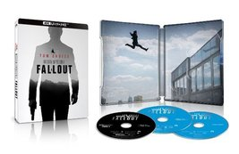Mission: Impossible - Fallout Limited Edition 4K SteelBook [4K UHD + Blu-ray] image 2