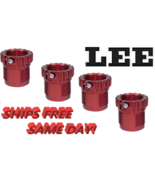 Lee Precision Spline Drive Breech Lock Bushings, RED - 4 PACK!! NEW! # 9... - $27.21