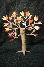 Vintage inspired Halloween Fall Tree Man spun cotton image 1