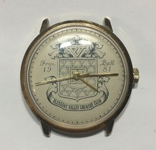 Vintage Watch Pleasant Valley Country Club 1981 Four Ball Mechanical Wor... - $38.61