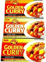 S&B Golden Curry Sauce Mix - Mild 7.8 oz ( Pack of 3 ) FREE FAST SHIPPING - $28.04