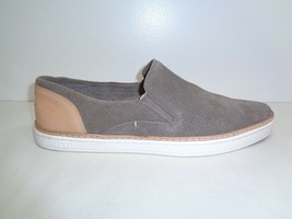 UGG Size 10 ADLEY Mole Gray Perforated Suede Fashion Sneakers New Womens Shoes - $88.75 CAD