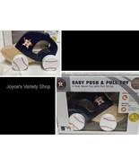 Houston Astro MLB Baby Push & Pull Real Wood Toy Cotton String Baseball ... - $8.99