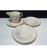 4 Pieces Lenox Heiress ~~ Creamer & 3 saucers - $12.95