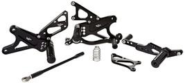 VooDoo VRD1304 Rear Set Adjustable Black Billet Fits 09-14 Yamaha YZF R1 - $296.21