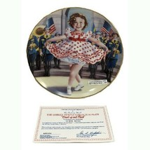 Shirley Temple Stand Up and Cheer First Edition Danbury Mint 1991 Plate - $22.77