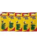 Johnson - Beetle Spin - Green Black Stripe 1/32 oz. Soft  Fishing LureL... - $27.71