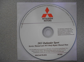 2011 MITSUBISHI OUTLANDER SPORT Service Repair Manual CD FACTORY BRAND NEW - $221.76