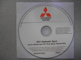 2011 MITSUBISHI OUTLANDER SPORT Service Repair Manual CD FACTORY BRAND NEW - $221.76