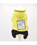 N colors s xxl sizes four legs warm pet clothes with shiny mirror stickers embroidered thumbtall