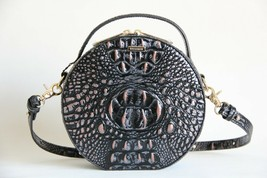 NWT BRAHMIN LANE TEXTURED LEATHER CROSSBODY BAG DUSK - $191.57