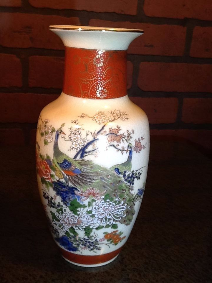 Vintage Satsuki Japan Porcelain Vase And 50 Similar Items